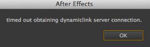 AE-DynamicLinkTimedOut